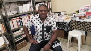 Nioussr Kalala Omotunde  la Librairie Tamery