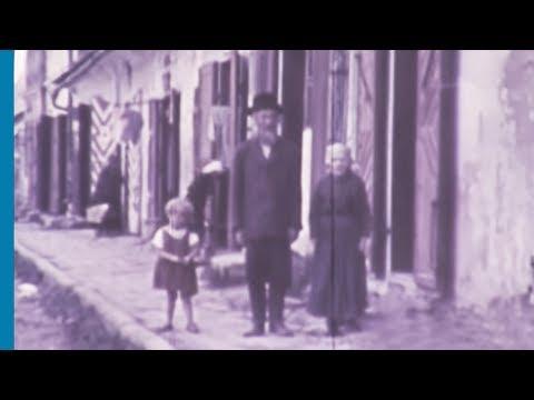 סרט צבעוני נדיר המציג חיי יהודים בשטעטל לפני המלחמה