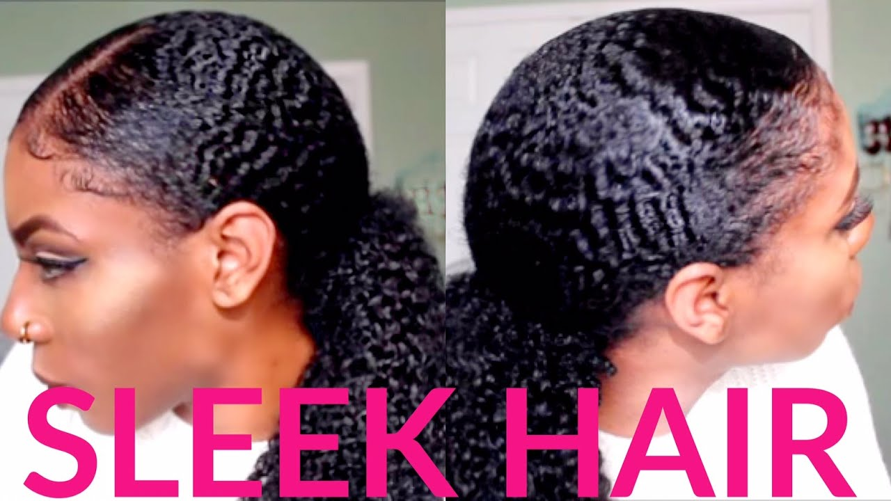 How To: Wavy, Curly, Sleek Pony Tail With Baby Hairs (clip