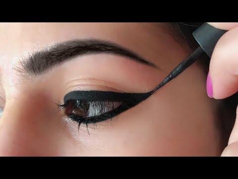 Wing Eyeliner लगाने का सही तरीका - How To Apply Perfect Winged Eyeliner for Beginners   Anaysa