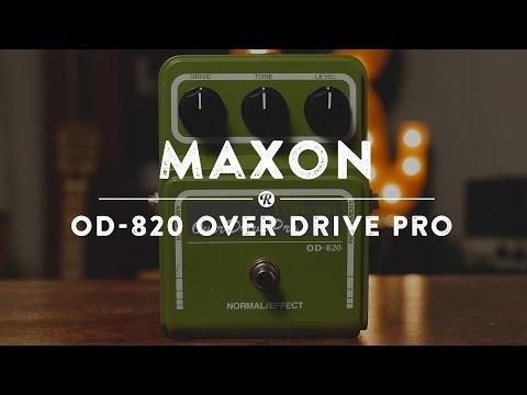 Maxon OD - 820 Over Drive Pro | Reverb Demo Video