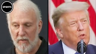 Gregg Popovich Calls Trumps A FOOL And COWARD