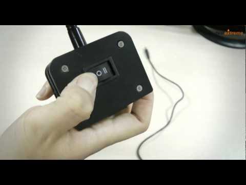 Flexible Neck 2-Mode 40-LED White Light - DealExtreme