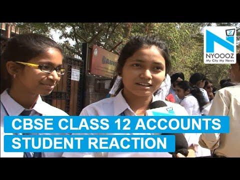 CBSE Class 12 Board Exam 2018: Paper Analysis of Accountancy   NYOOOZ TV