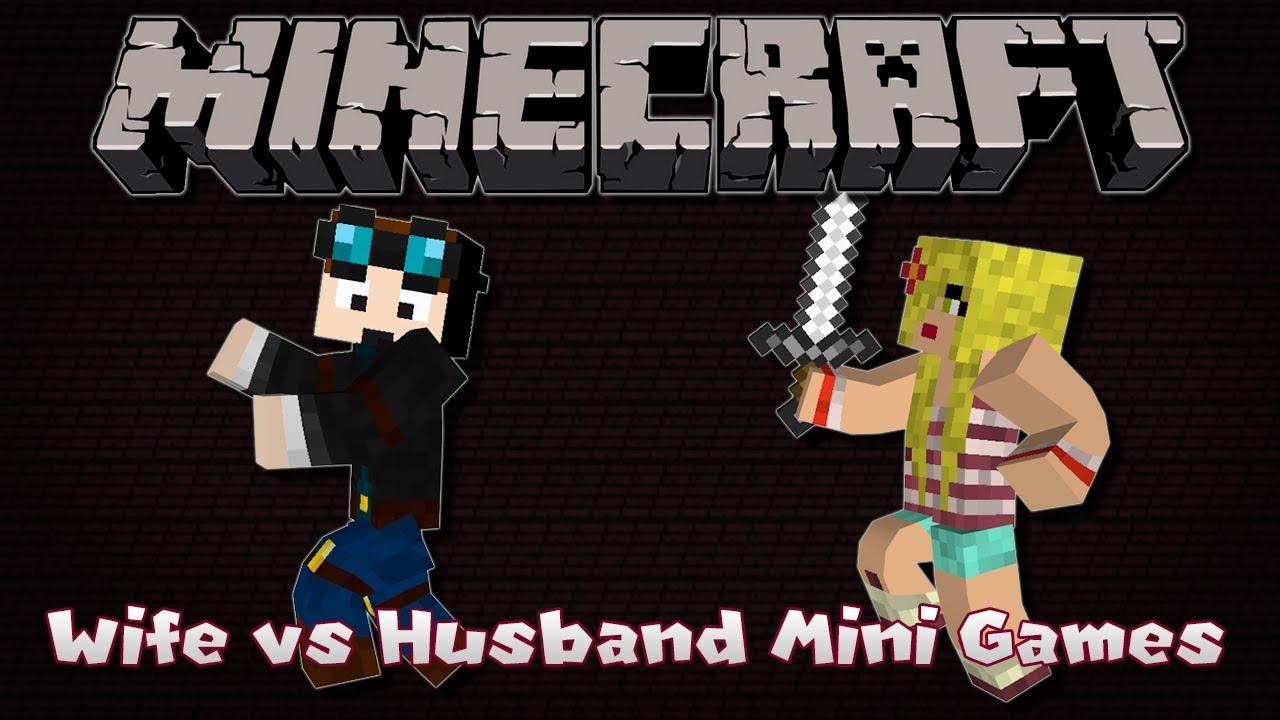 Minecraft  Wifeys Pov  Wife Vs Husband Mini-Games Wife Edition Ep 2 - Youtube-7250