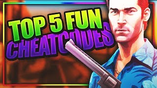 GTA Vice City Top 5 Most *FUN* Cheats Of All Time(BEST GTA VC CHEATCODES!)-Part 2