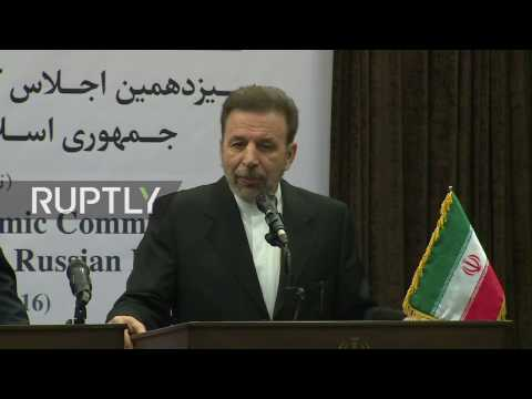 LIVE: Russian Energy Minister and Iranian Communications Minister hold joint presser