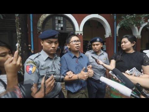 Periodistas de Reuters recurren contra los siete años de cárcel en Birmania