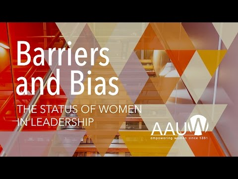AAUW Live Stream: Barriers and Bias