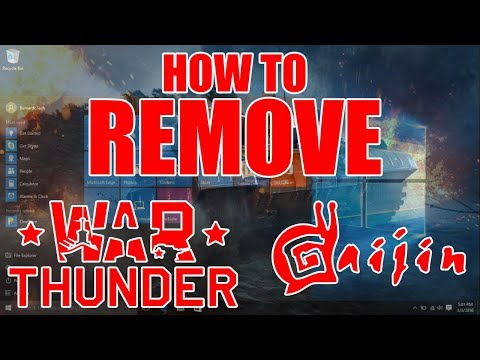 🎮 How To Remove The Gaijin Agent Or War Thunder (Dr. NOOB's Lab)