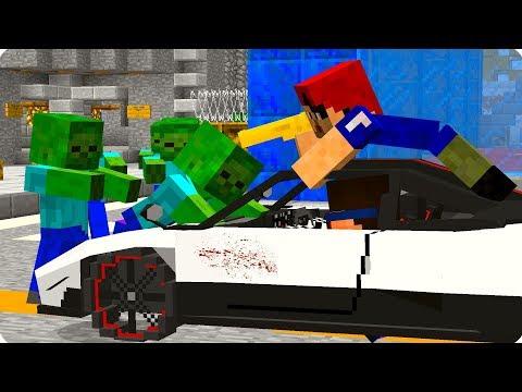😎Нашел супер спорткар! [ЧАСТЬ 71] Зомби апокалипсис в майнкрафт! - (Minecraft - Сериал)