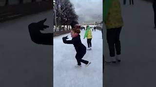 Парк Горького. Каток. Фигурное катание. Эмма Гаджиева.