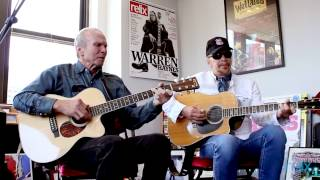 "Dave and Phil Alvin ""All By Myself"" and ""Key To The Highway"""
