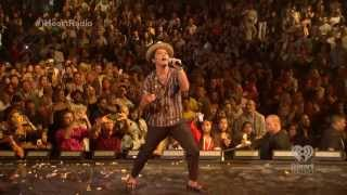[FRAGMENTS] [skips where livestream buffered] Bruno Mars iHeartRadio Music Festival 2013