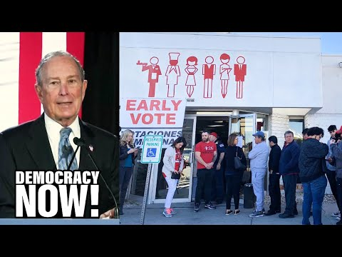 Bloomberg Gains in Democratic Primaries, But Has History of Hostility to Unions Key to Voter Turnout