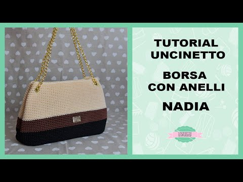 "TUTORIAL CROCHET BAG ""NADIA"" 