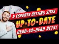 Best eSports Betting Sites: 5 Most Popular And Aesthetically Pleasing eSport Bet Sites 🥇