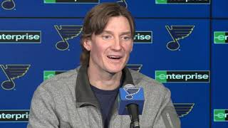 Full Press Conference: Jay Bouwmeester talks about 'cardiac episode', future in hockey