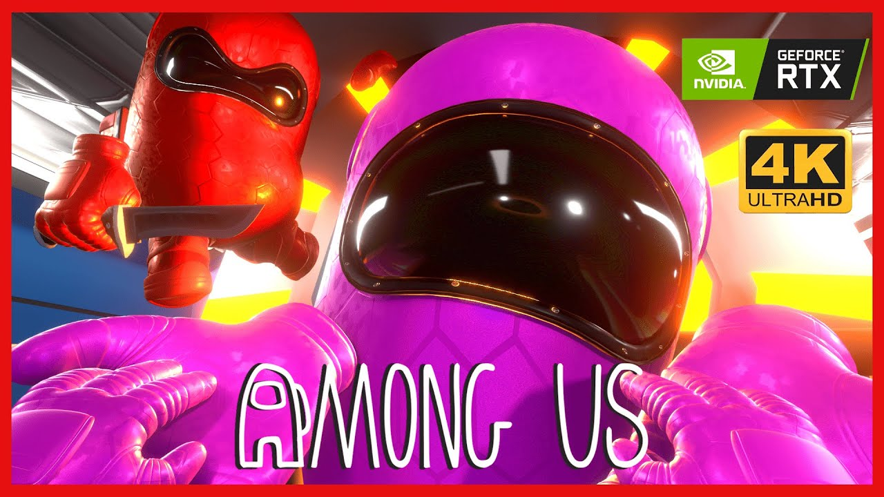 Among Us 3d Animation The Mini Crewmate Life 3 Youtube