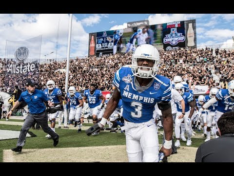 2017 American Athletic Conference Football Championship Memphis Intro Video