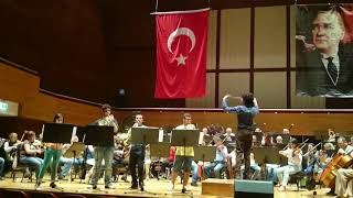 (Rehearsal) Schumann Konzertstück for Four Horns and Orchestra
