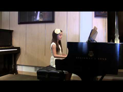 Kids Piano Recital June 2014