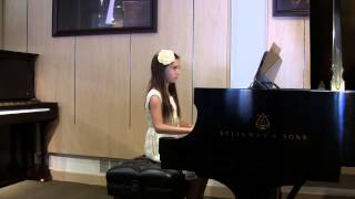 Kids Piano Recital June 2014