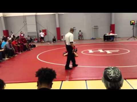Jordan Norwood Wrestling - 1-11-13 (part 1)