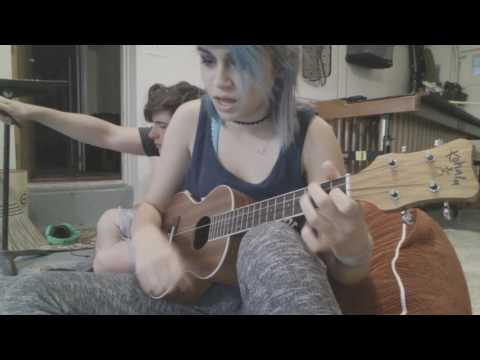Fall Down Never Get Back Up Again - La Dispute UKULELE COVER | Kylie The Jellyfish