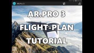 AR.Pro 3-Flugplan Tutorial