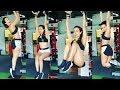 Malaika Arora Khan Hot GYM Workout Videos 2018