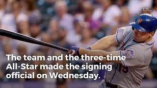 Jay Bruce Officially Rejoins Mets