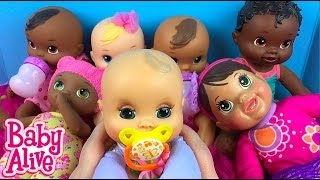 Baby Alive Doll Collection Series Part 1 -- My Soft Bodied Baby Alive Dolls