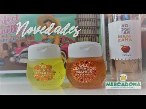 NOVEDADES MERCADONA FEBRERO 2018 // GELES DESINFECTANTES || LIDL SWEET PEACH