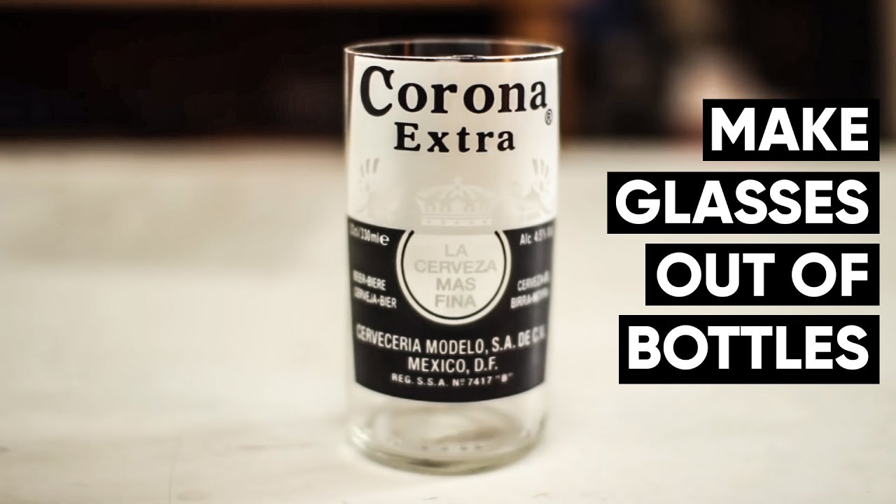 how to make corona beer bottles into glasses every time