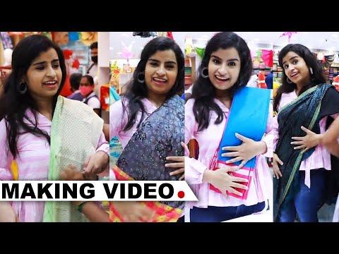Nayanthara கட்டுன Saree-யை நானும் கட்டியே ஆகணும் - Shivangi-யின் Shopping கலாட்டா.! | Velavan Stores