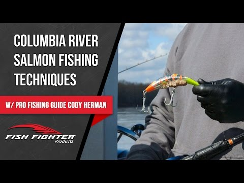Salmon Fishing Techniques With Cody Herman | Fish Fighter Products