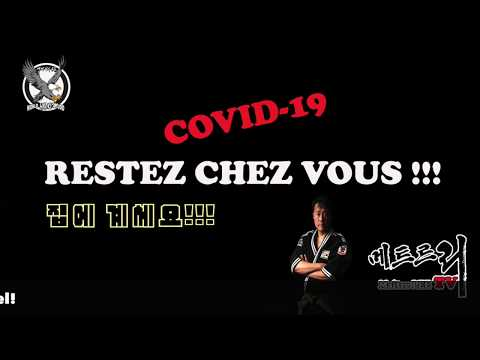 Maître LEE TV - COVID-19 VIDEO/ On Peut Gagner Contre Le Corona Virus /합기도 수련영상 공개