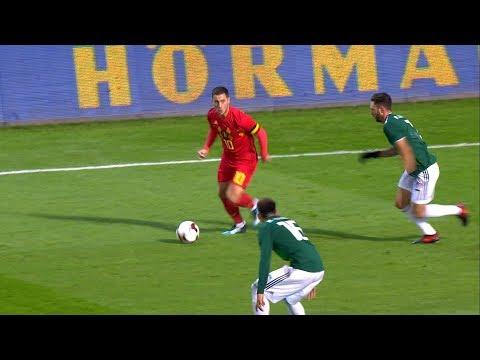 Eden Hazard vs Mexico (Friendly) 10/11/2017 HD 1080i