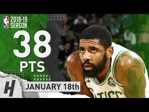 Kyrie Irving SICK Highlights Celtics vs Grizzlies 2019.01.18 - 38 Pts, 11 Ast, 7 Rebounds!