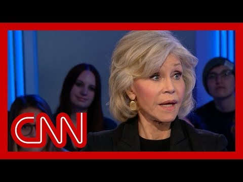 Jane Fonda's plan to get through to Trump on climate crisis