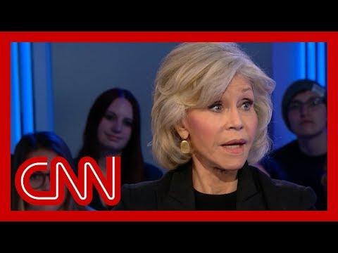 Jane Fonda's Plan To Get Through To Trump On Climate Crisis