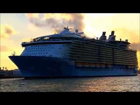 Parade Of Cruise Ships In Ft Lauderdale