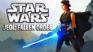 Star Wars Jedi Fallen Order PS4, XBOX ONE, PC 2019! FIRST DETAILS AND MORE E3 2018!