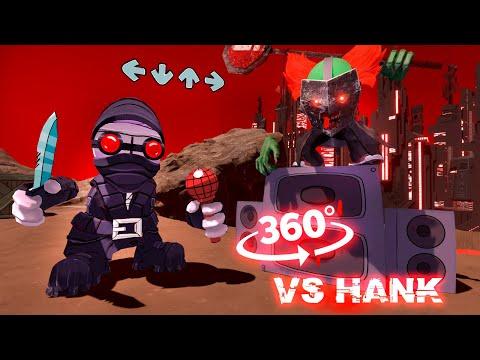 Vs Hank Accelerant Friday Night Funkin' Animation 3D 360°