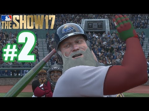 THE PROFESSIONAL DEBUT OF SANTA CLAUS! | MLB The Show 17 | Road to the Show #2