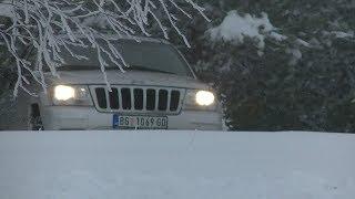 Jeep Grand Cherokee WJ 2.7 diesel, stock, winter tires Nexen, action camera