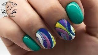 Фактурная МОЗАИКА на ногтях. Как выравнивать БОЛЬШОЙ пальчик?