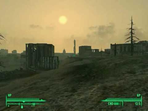 Fallout 3 ноутбука