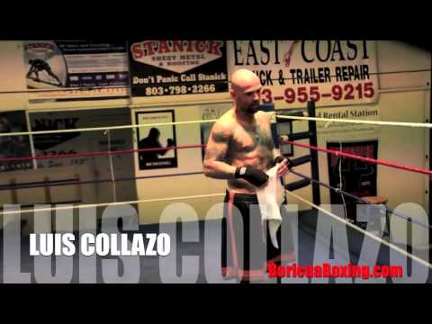 An inside look into the training camp of LUIS COLLAZO (Teaser)